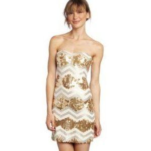 As U wish sequin mini dress